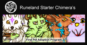 Starter Chimera: First Pet Adoption Program by Ragaki-Runeland