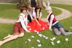 Hetalia fem! Italy [Alice Mad Tea Party] by PinkFluffyKitchicorn