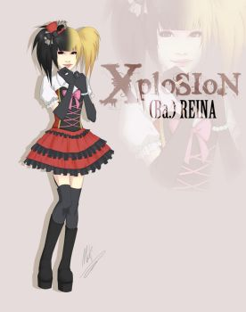 XploSioN - Reina by deadly-logical
