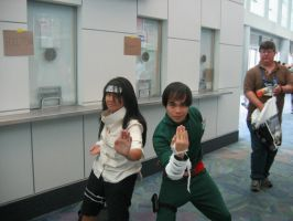 Neji and lee Cosplayers by Knightfourteen