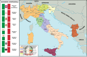 Italian Confederation today by nanwe01