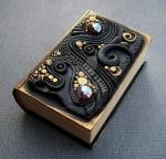 Little Black and Gold Book Box by MandarinMoon