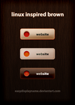 linux inspired brown by easydisplayname