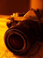 My old Pentax by stariander