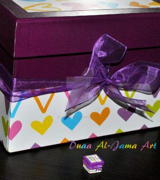 A miniature box by Beauty-of-love