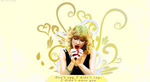 Taylor Swift Wallpaper by haylijah