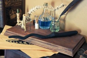 Peter Pettigrew's wand replica by enguerrand