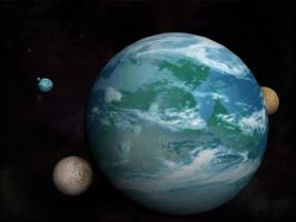 Planet Texture Render by Narishm