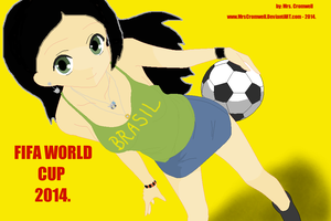 FIFA World Cup 2014. by MrsCromwell