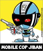 Mobile Cop Jiban by PacoAfroMonkey