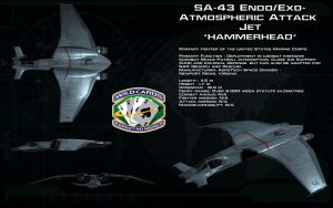 SA-43 Hammerhead ortho by unusualsuspex