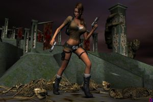LARA CROFT AND THE BHT by lordcoyote