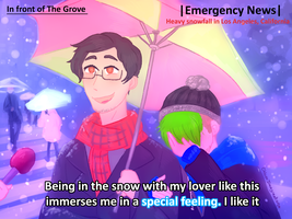 Septiplier drawn as the Special feeling meme by ChloesImagination