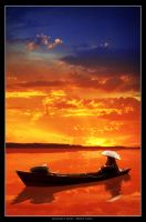 Sunset In Banjarmasin by random-victory