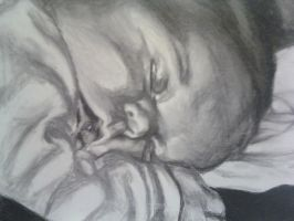 Gracelyn Marie Rice-- Charcoal by SundayPrism