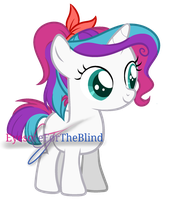 Filly Clarissa Clarity by EyesoreForTheBlind