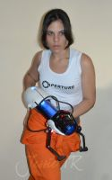 Chell _Portal 2 by Jessie-TR