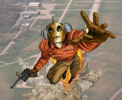 Rocketeer in color by SuperColors