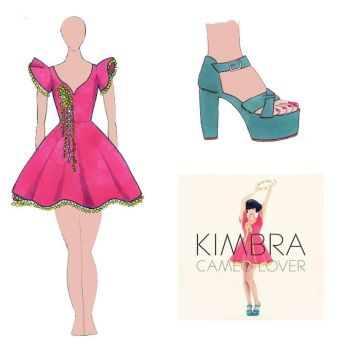 Kimbra Cameo Lover Dress and Shoes by jazz-man556677