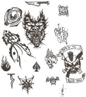 Tattoo Page I by Eyball