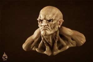 Speed Sculpt - orc by Art-by-Smitty