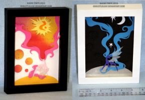 :ShadowBox: 004 and 005 -FOR SALE- by oddlittleleaf