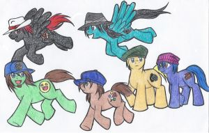 Herd of Nice Hats by Ra-HiME