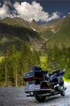 Goldwing in The Alps by PaSidor