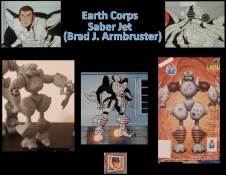 Saber Jet Earth Corps Inhumanoids by Coptur