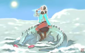 walk the crocodile by Smoxt