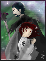 Raven and Sicry by ScarabDynasty1