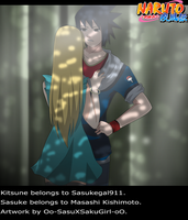 : R - Sasuke and Kitsune : by Florchus
