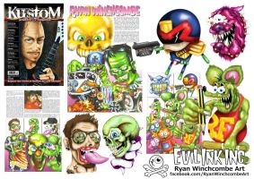 Feature in PandKG Magazine by Rhyno777