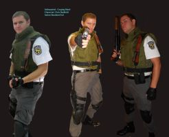 Chris Redfield Cosplay by IrishWastrel