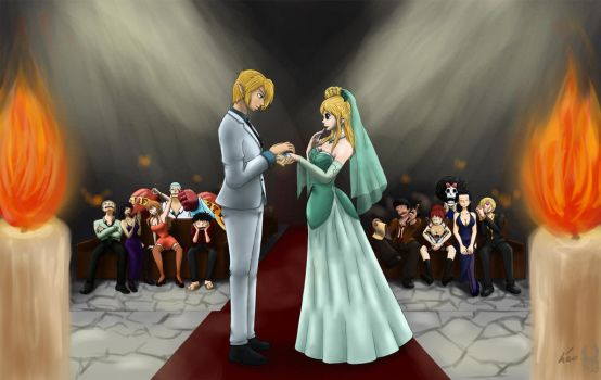 Request - Crossover Wedding by Evanyia