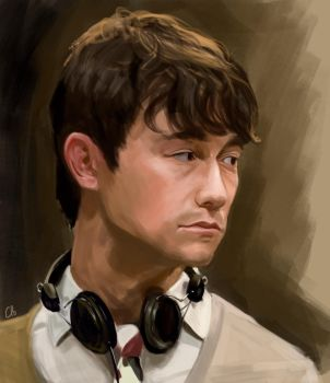 500 days of Summer - JGL by WisesnailArt