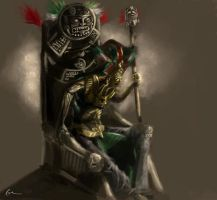 aztec king by emonteon