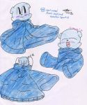 Spot wears Mina's stretched sweater - Part 1 by murumokirby360