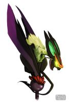 Noivern by RhythmAx
