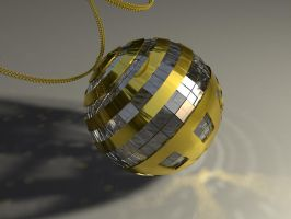 Gold and Crystal Ball by Valadj