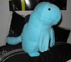 Quagsire plushie by Mad-March