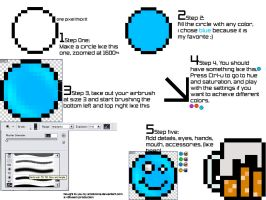 Reflective Emoticon Tutorial by emoticons