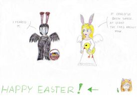 Happy Easter by Gato-Nephist