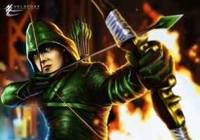 Green Arrow by HeLoChaz