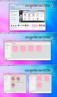 Theme Buff Pink Iconpackager K1000a09 by k1000adesign
