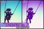 Blue is Purple Action by AnotherLiife