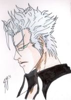 Grimmjow rests by DJesterS