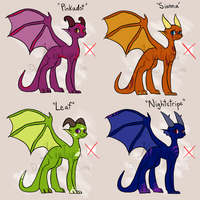 Draw To Adopt Dragons -CLOSED- by Kintupsi
