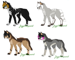 Adoptables*Gone* by MonsoonWolf
