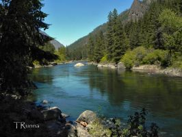 Spring on the Tumwater by TRunna